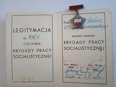 Brygada Pracy Socjalistycznej