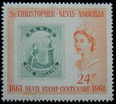 Duże zdjęcie St.Christopher Nevis Anguilla 24c Elżbieta II