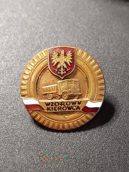 Odznaka Wzorowy Kierowca Nr:1457 - Brązowa