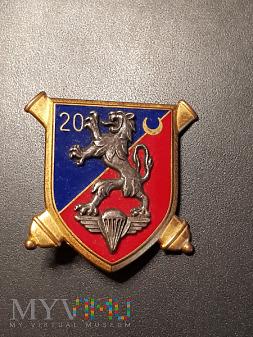 20 Pułk Artylerii Francja Odznaka Pamiątkowa