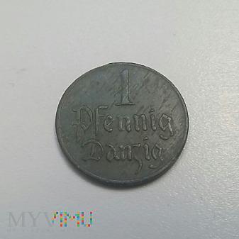 1 fenig Danzig 1923