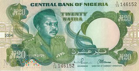Nigeria - 20 naira (2004)