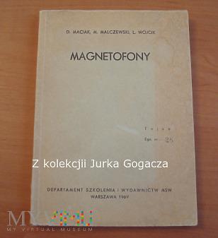 Magnetofony pod specjalnym nadzorem