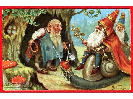 ARTHUR THIELE Król krasnali i jego ślimak TSN 1867