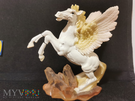 Koń-Anioł z połamanymi nogami