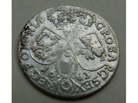 Szóstak m. Kraków 1683 rok