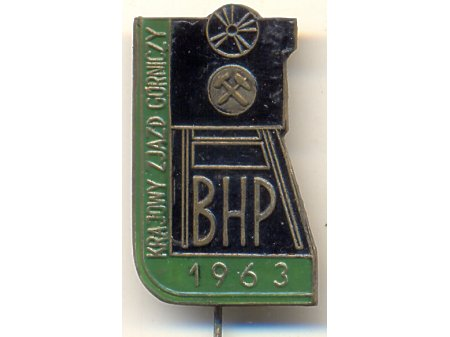 Krajowy Zjazd Górniczy BHP 1963