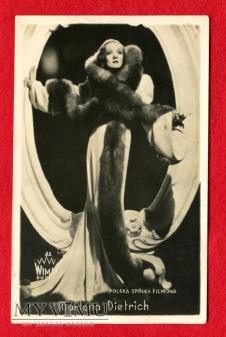 Marlene Dietrich WIMAR FOTO Polska Spółka Filmowa