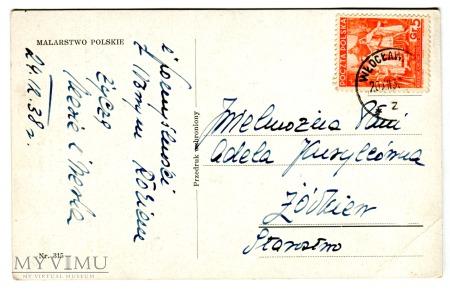 1938 Włodzimierz Tetmajer Kolędnicy Święta Noc