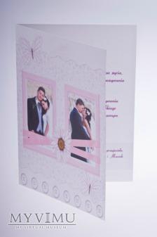 'kartka ślubna'