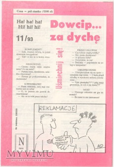 Dowcip...za dychę 11/93