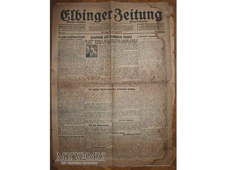 Elbinger Zeitung z 27 lipca 1931