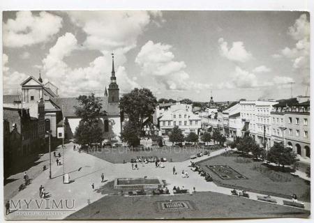 Wejherowo 1968 - Rynek strona zachodnia