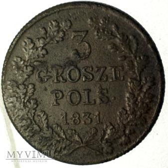 Duże zdjęcie Trojak powstanczy - krzyz korony pod litera O