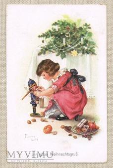 23.12.1916 dziadek do orzechów , dziewczynka,