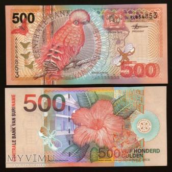 Surinam - P 150 - 500 Gulden - 2000