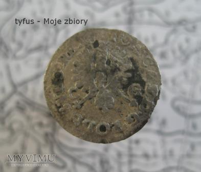 DWUGROSZ KORONNY JANA KAZIMIERZA (1651 ?)