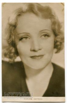 Duże zdjęcie Marlene Dietrich Marlena Karta