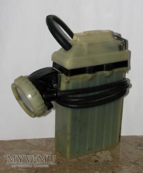 Lampa Górnicza Akumulatorowa - Nahełmna Rc-12M