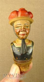 rzeźbiony w drewnie ozdobny korek do butelek ANRI