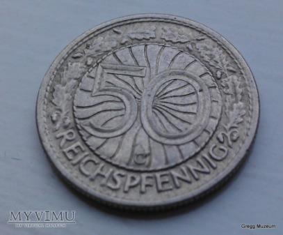 50 Reichspfennig 1928 C