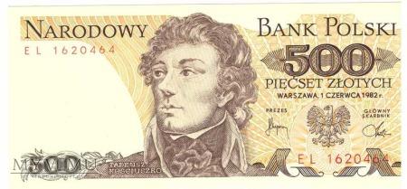 500zł 1982r.