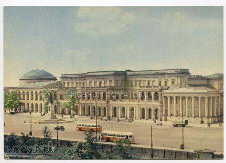 W-wa - Plac Bankowy - 1950-te