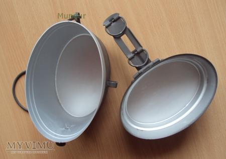 Menażka szwedzka aluminiowa szara