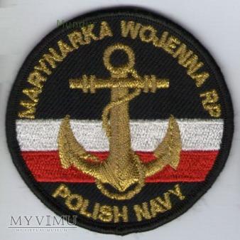 Duże zdjęcie Oznaka Marynarki Wojennej - POLISH NAVY