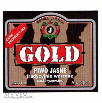 GOLD PIWO JASNE