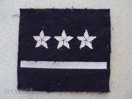 Oznaka stopnia do ubioru specjalnego - porucznik
