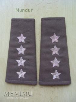 Pochewki z oznaką stopnia - kapitan SG