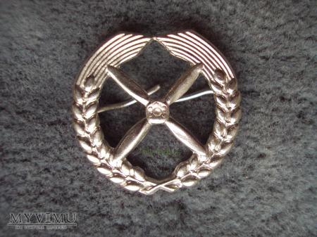 NVA: emblemat na czapkę lotczniczą
