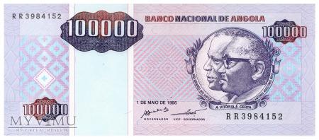 Angola - 100 000 kwanza (1995)