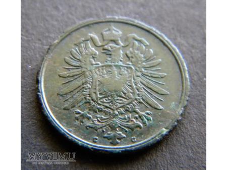 2 pfennig 1876