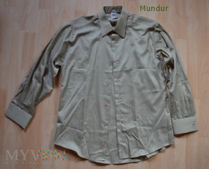 Koszula służbowa khaki z długimi rękawami