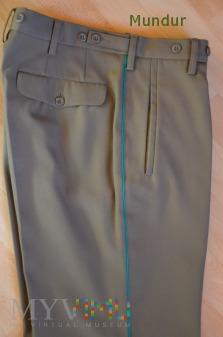 Straż Graniczna - spodnie wyjściowe z lamówką