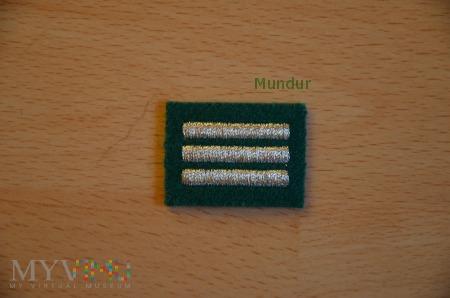 Dystynkcje na beret SG - haft maszynowy