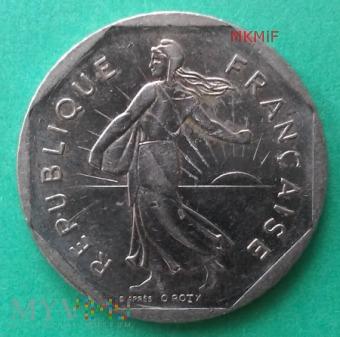 2 Francs 1979 r. Francja