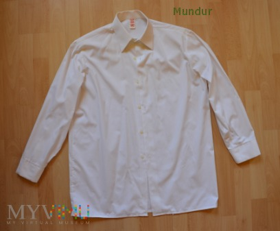 NVA biała koszula z długimi rękawami