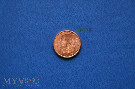 Moneta: 1 euro cent - Espana