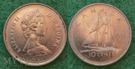 Kanada, 10 CENTS 1998