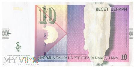 Macedonia - 10 denarów (2011)