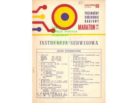 Instrukcja serwisowa radia MARATON
