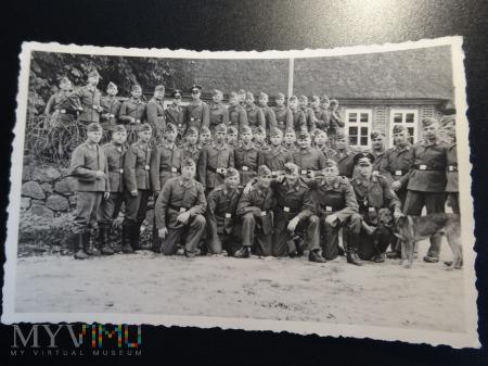 Duże zdjęcie 1940 w koszarach