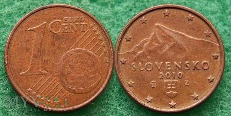 1 EURO CENT 2010
