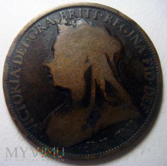 Wielka Brytania 1 pens - 1896r