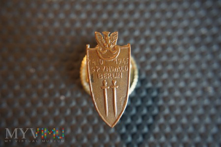 Miniaturka Odznaki Grunwaldzkiej - z literką V
