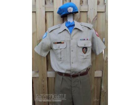 Polski mundur sapera sił pokojowych ONZ