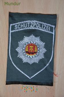 Volkspolizei - emblemat SCHUTZPOLIZEI